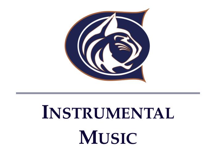 Cienega Instrumental Music Program